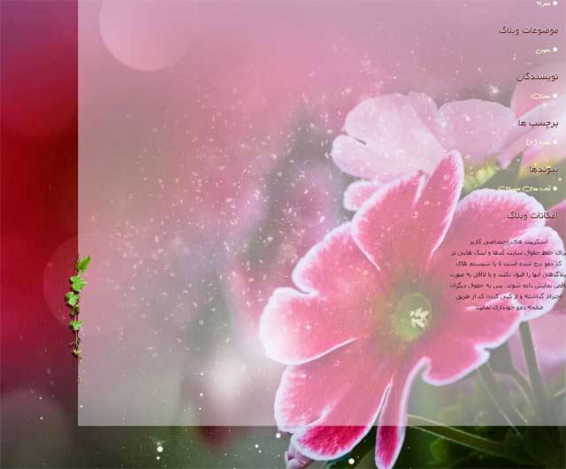 تصویر پیش نمایش قالب جدید و رایگان بلاگفا - قالب  سمت روشن زندگی برای بلاگفا