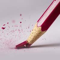 قالب مداد قرمز
