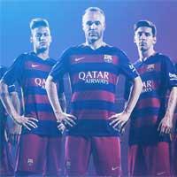 قالب حرفه ای بارسلونا