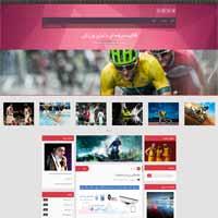 قالب ورزشی بلاگفا - قالب حرفه ای دنیای ورزش
